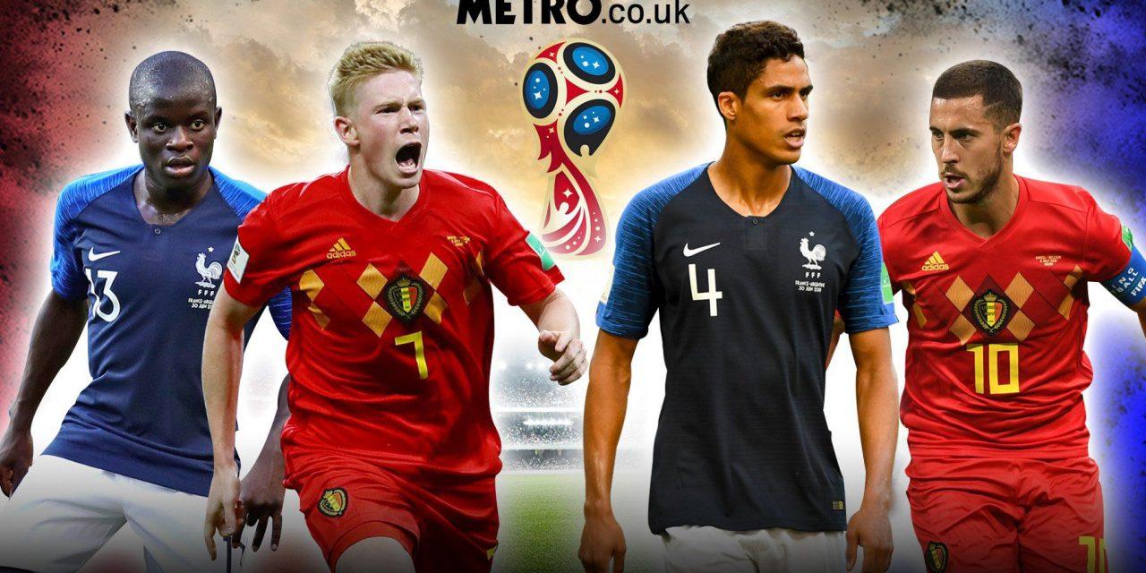 Vòng bán kết World Cup 2018: Châu Âu nội chiến