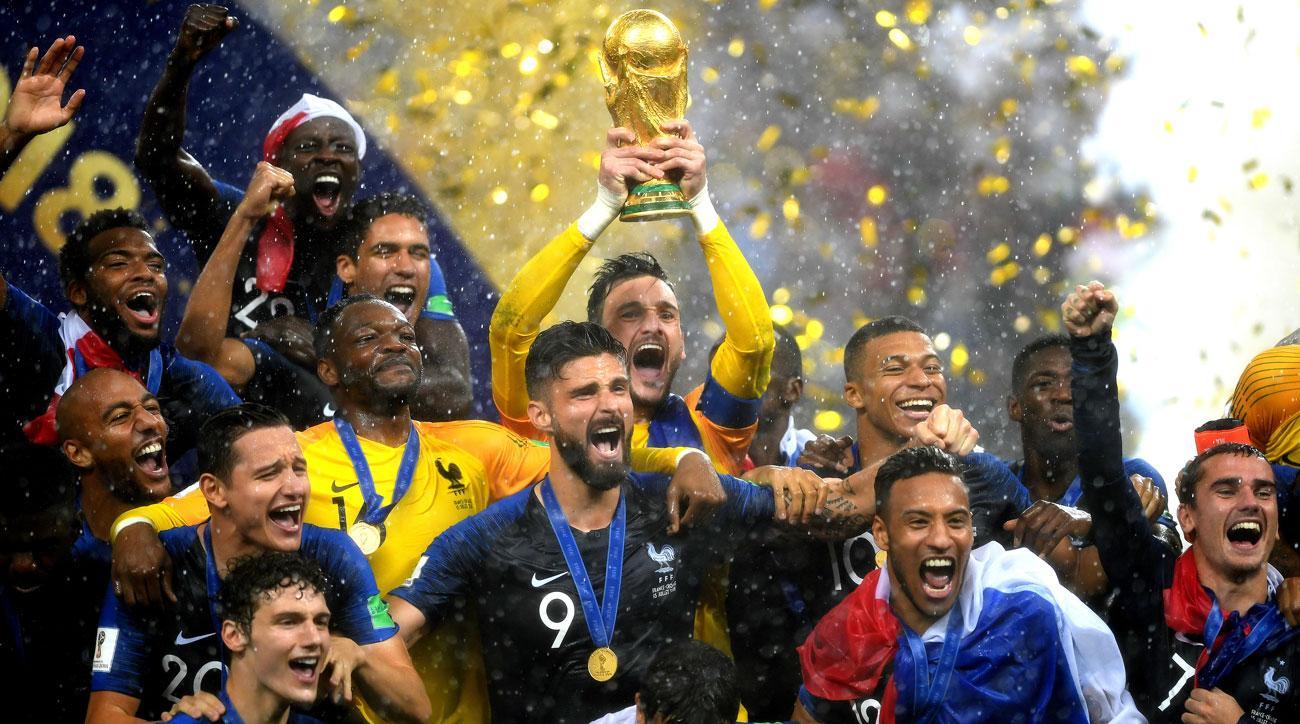 Pháp lần thứ 2 vô địch World Cup
