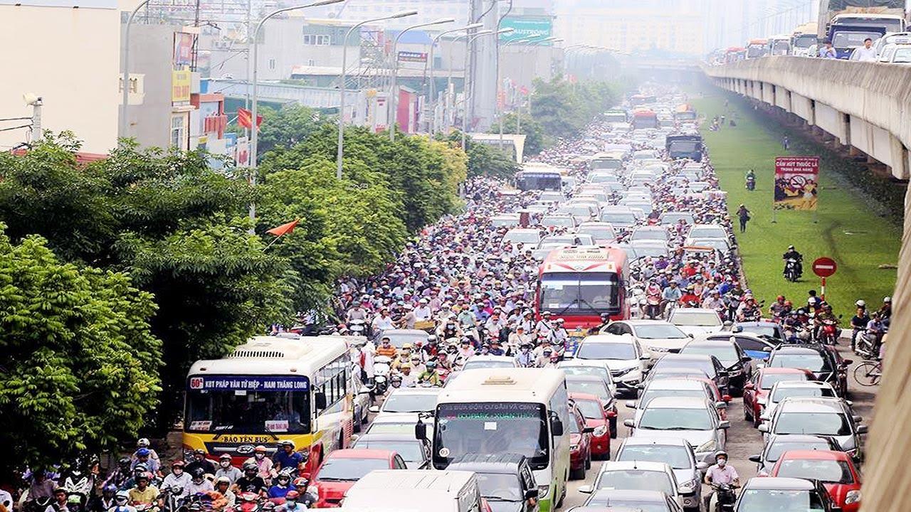 TP. Hà Nội được lập Đề án thu phí vào nội đô để giảm ùn tắc giao thông