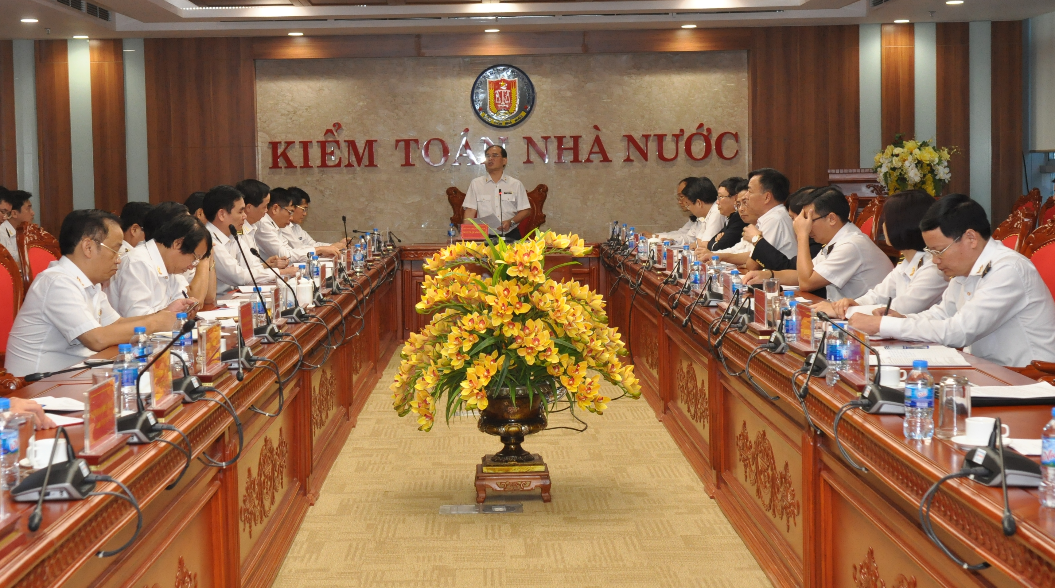 Kiểm toán Nhà nước tổ chức Hội nghị giao ban tháng 11/2018