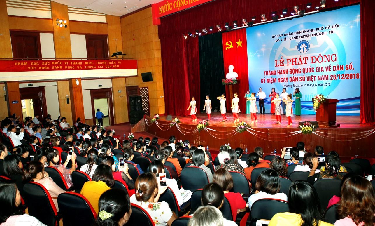 Hà Nội phát động Tháng Hành động quốc gia về Dân số năm 2018