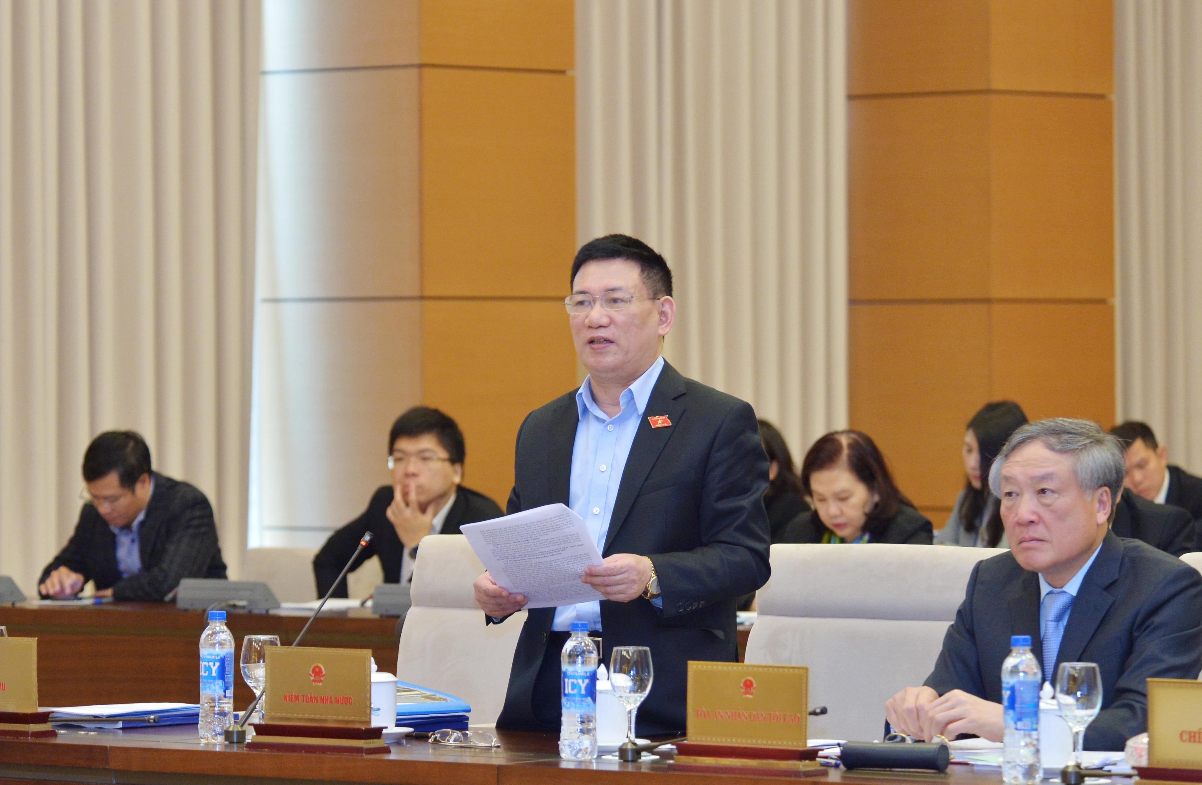 Ủy ban Thường vụ Quốc hội tán thành việc bổ sung Luật sửa đổi, bổ sung một số điều của Luật KTNN vào Chương trình xây dựng luật, pháp lệnh năm 2019