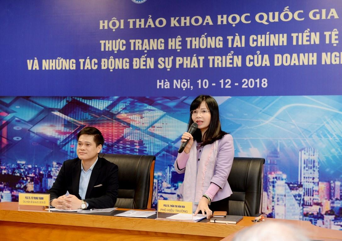 Thực trạng hệ thống tài chính tiền tệ và những tác động đến sự phát triển của DN Việt Nam