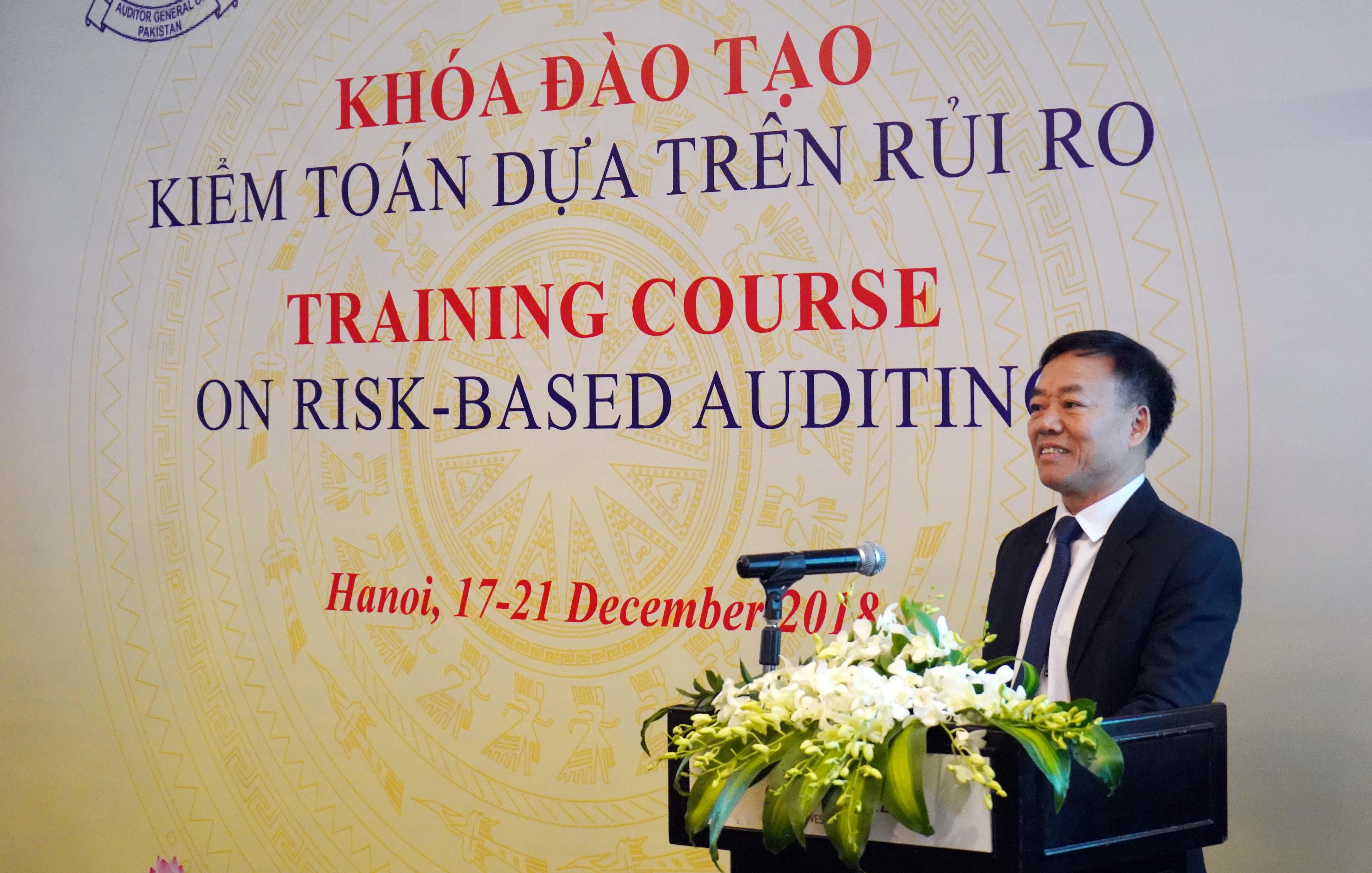 Khai mạc Khóa đào tạo về kiểm toán dựa trên rủi ro