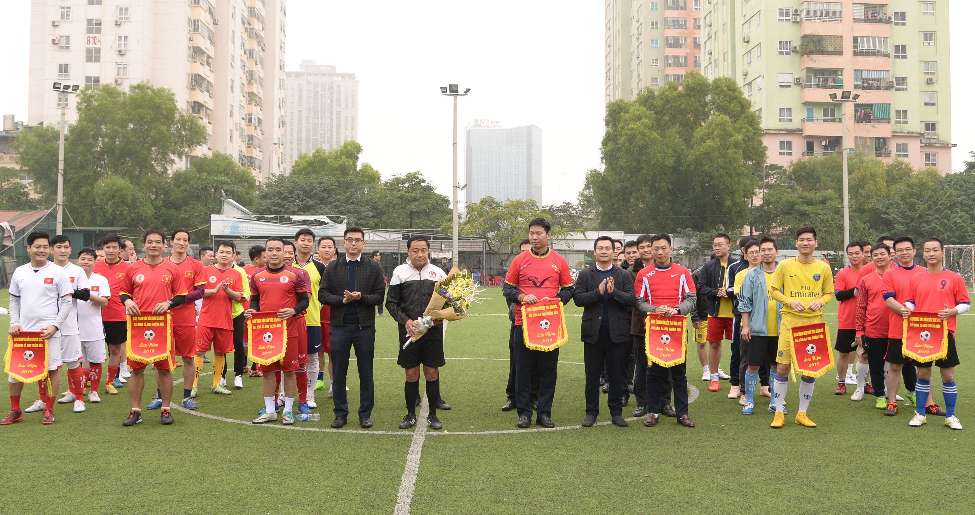 Khai mạc Giải bóng đá mini Kiểm toán Nhà nước lần thứ 15