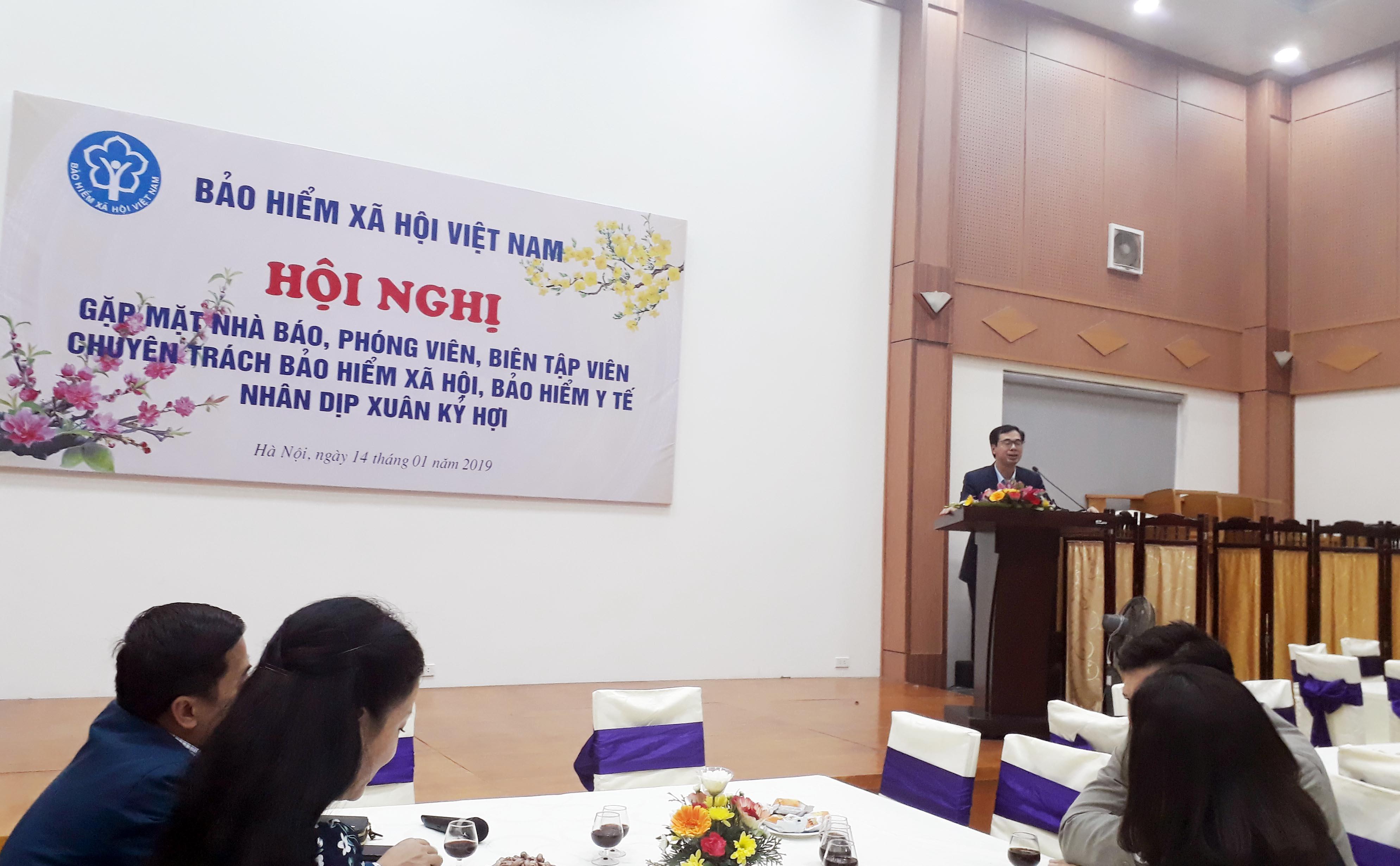 BHXH Việt Nam tổ chức Hội nghị thông tin định kỳ về BHYT, BHXH