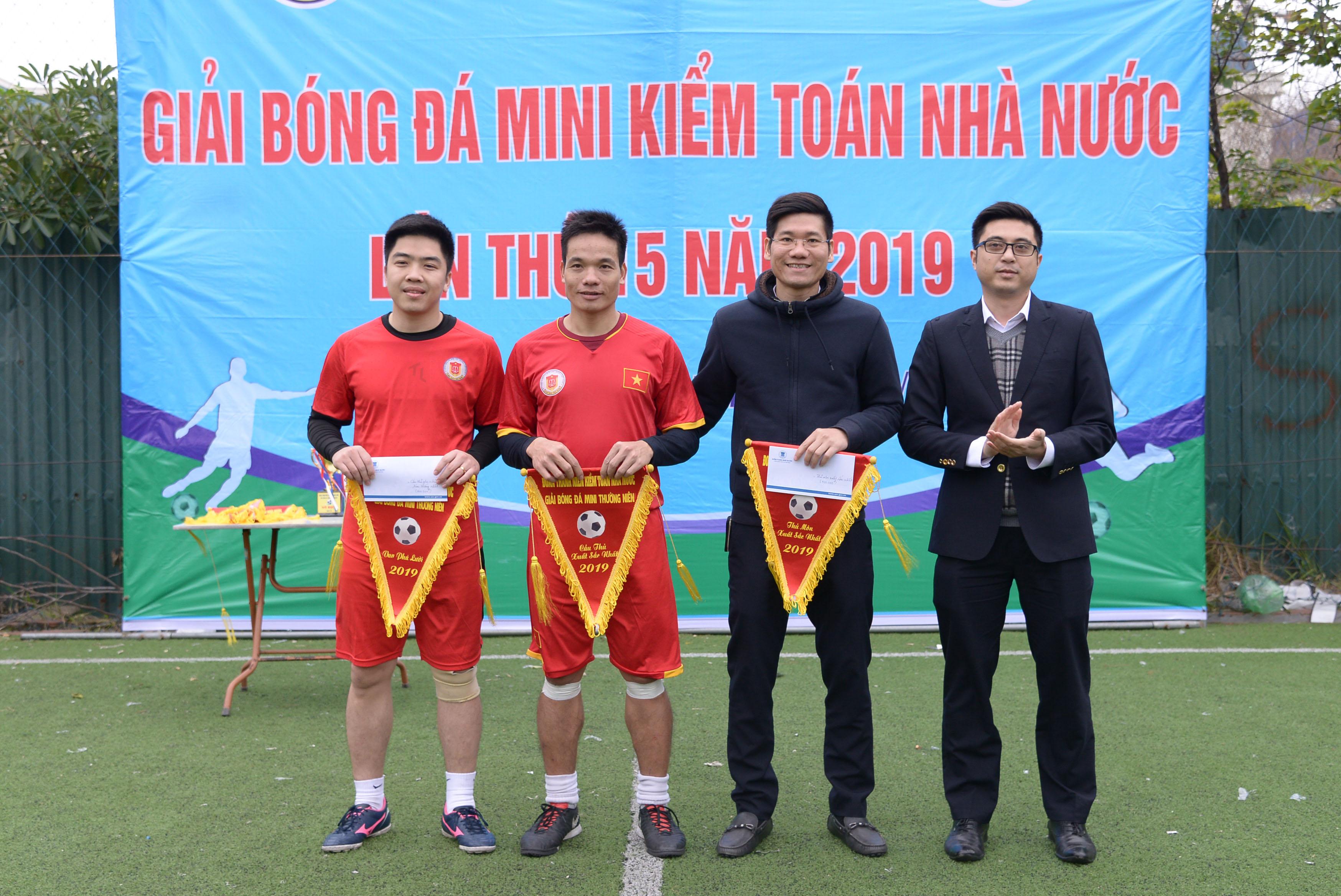 KTNN khu vực II vô địch Giải bóng đá mini Kiểm toán Nhà nước lần thứ 15