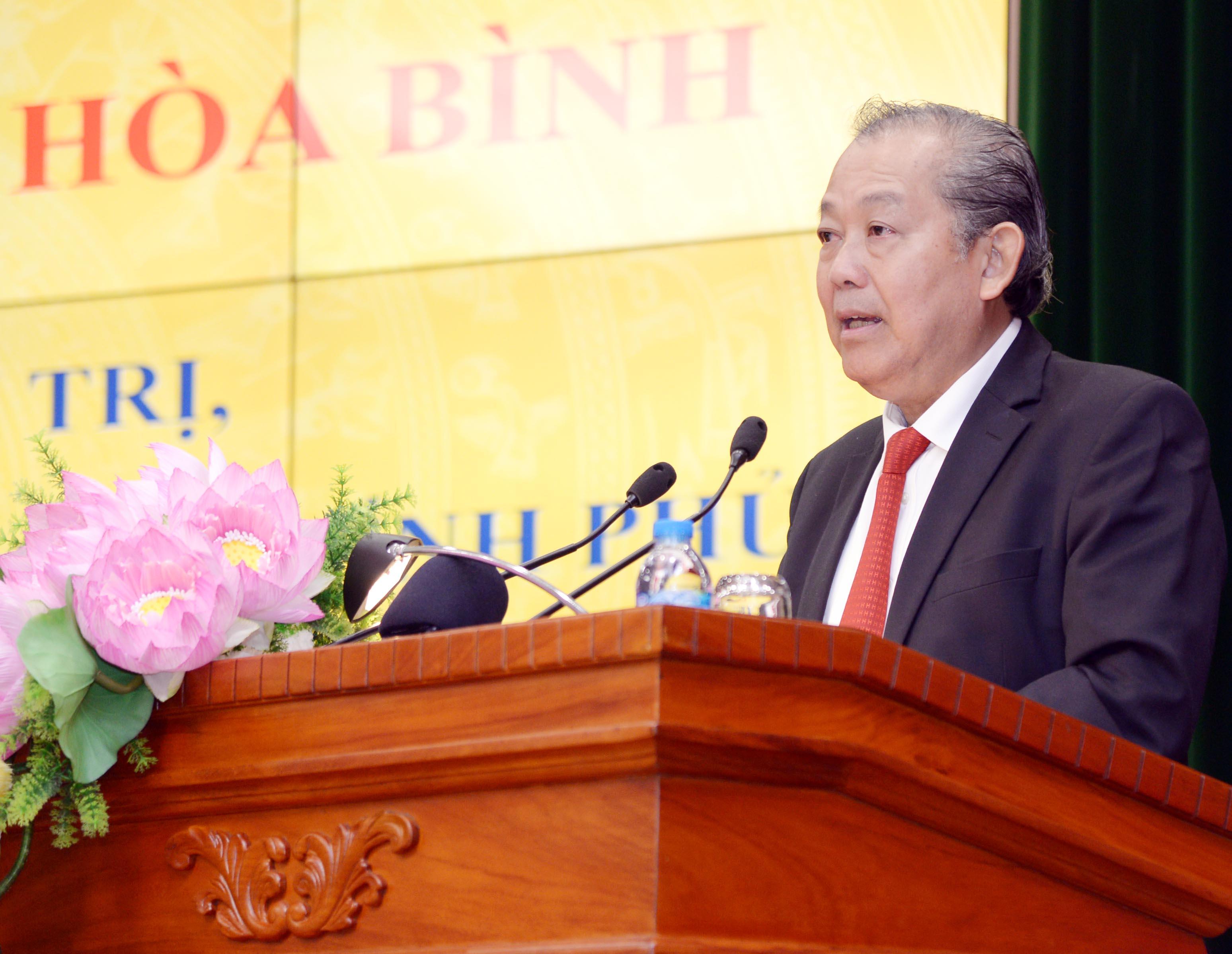 Phó Thủ tướng Thường trực Trương Hòa Bình: Nâng tầm các kết luận, kiến nghị thực sự có chất lượng, tương xứng với địa vị pháp lý của KTNN
