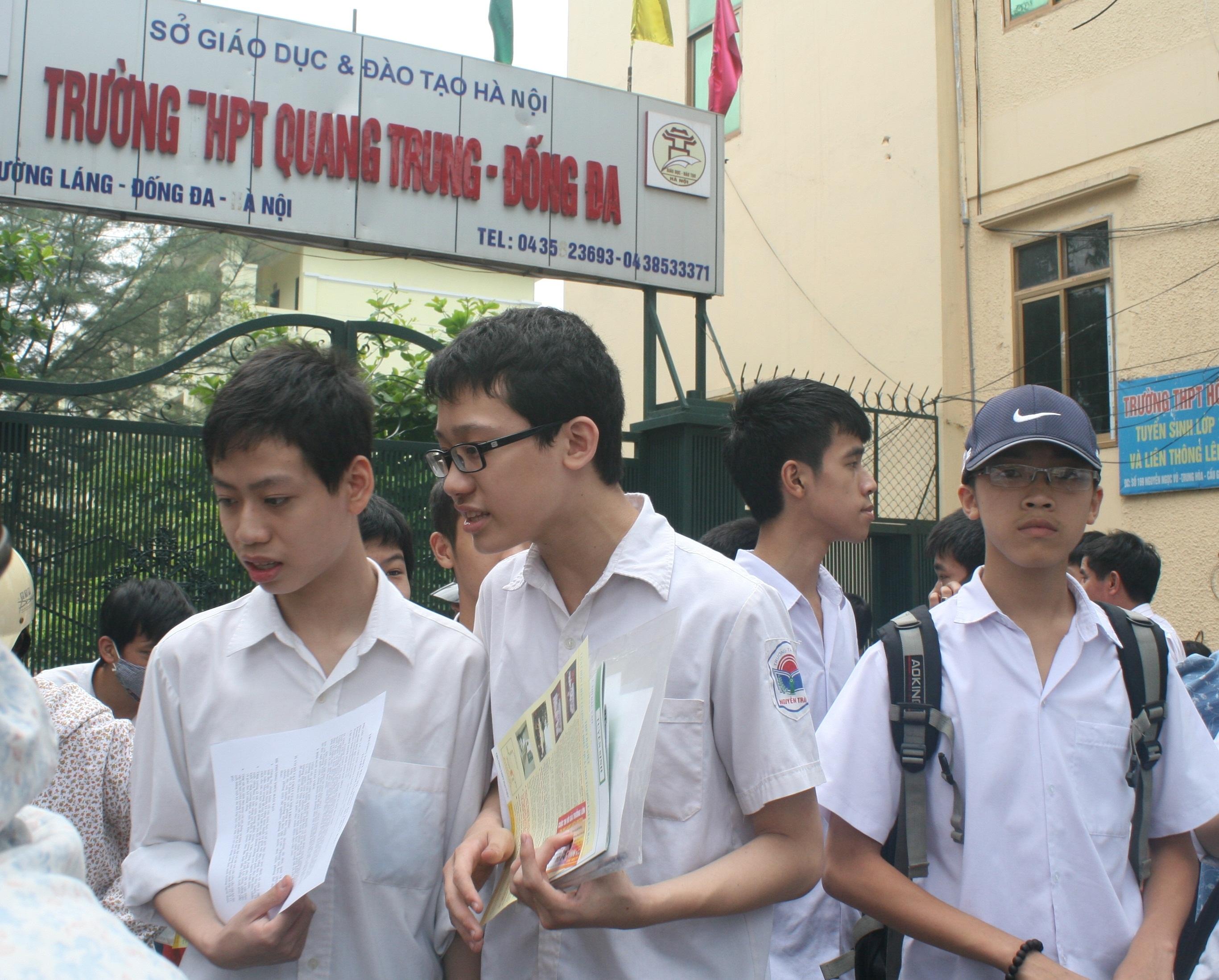 Các trường được chủ động mở rộng ngành tuyển thẳng