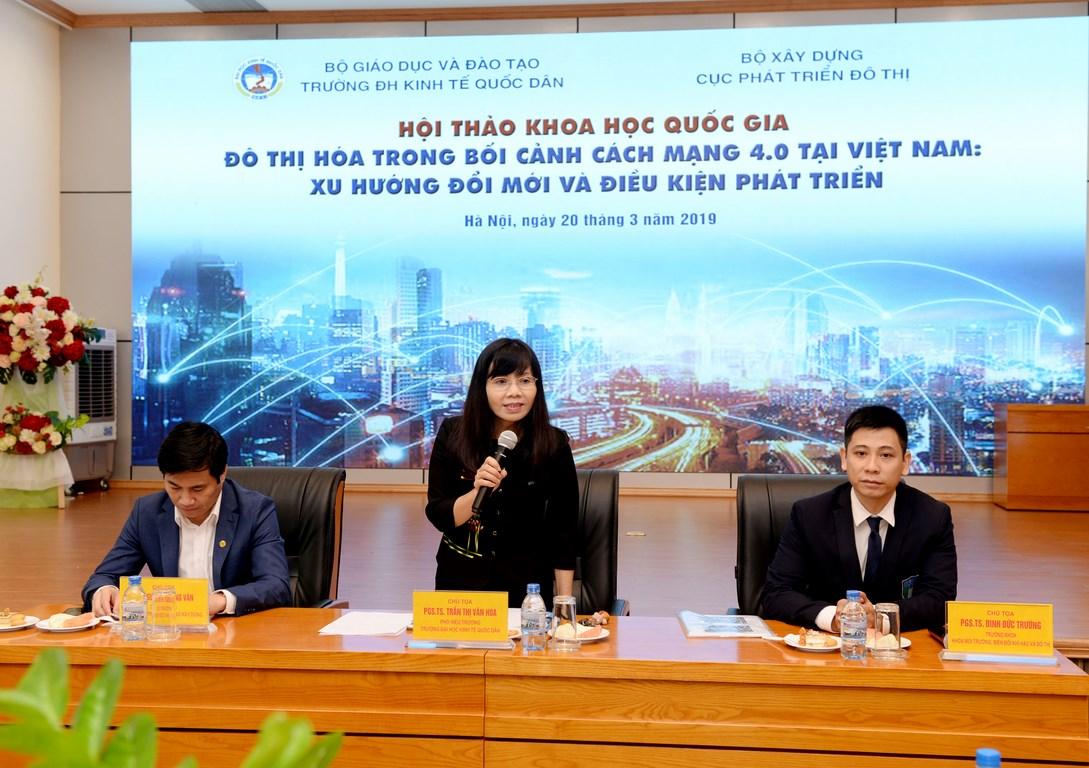 Đô thị hóa trong bối cảnh cuộc cách mạng 4.0 tại Việt Nam: Xu hướng đổi mới và điều kiện phát triển