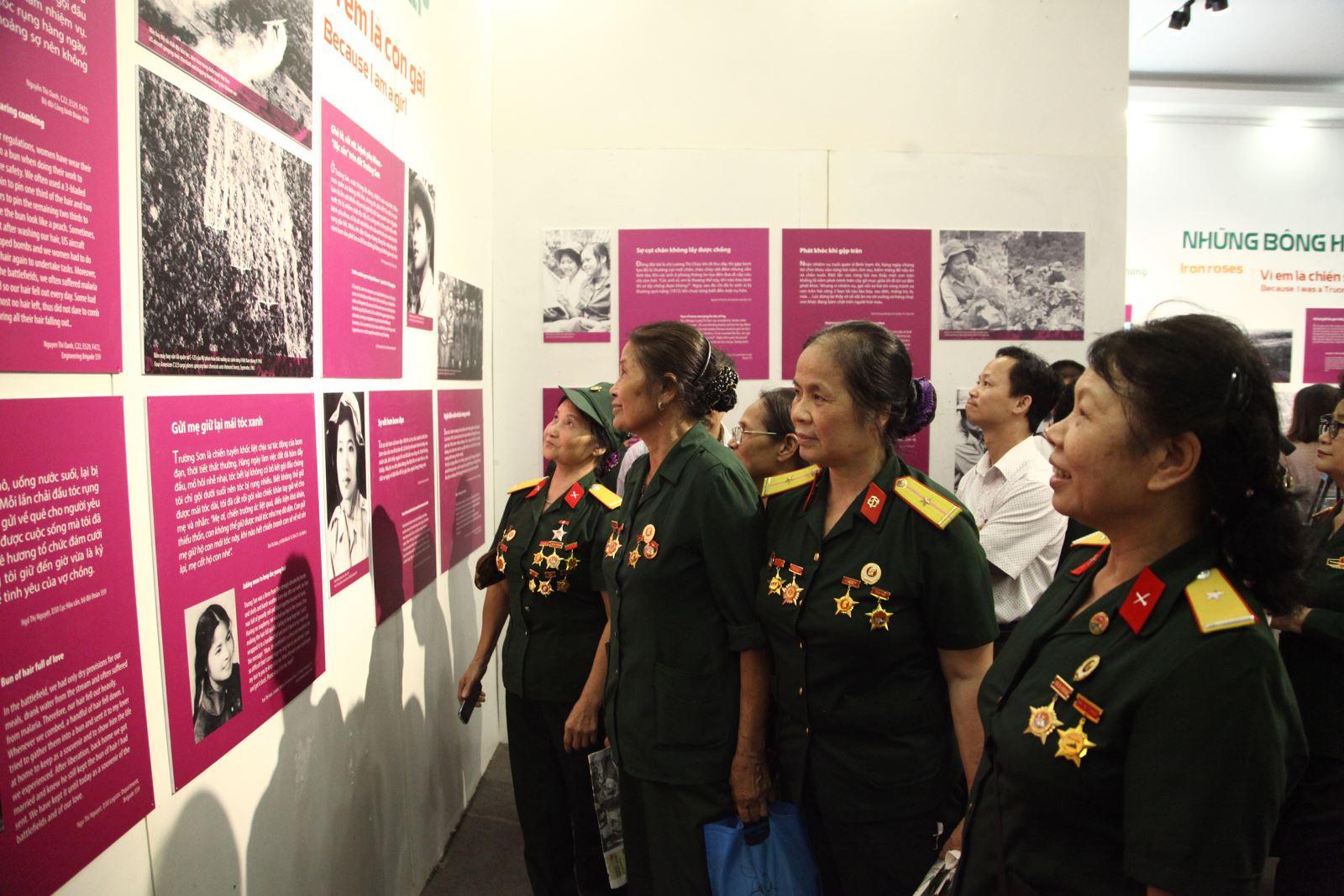 """Dấu ấn của những """"bông hồng thép"""" trên tuyến đường Trường Sơn lịch sử"""
