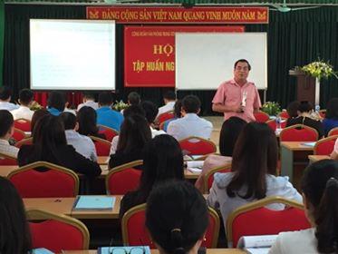 Hội nghị tập huấn nghiệp vụ công đoàn