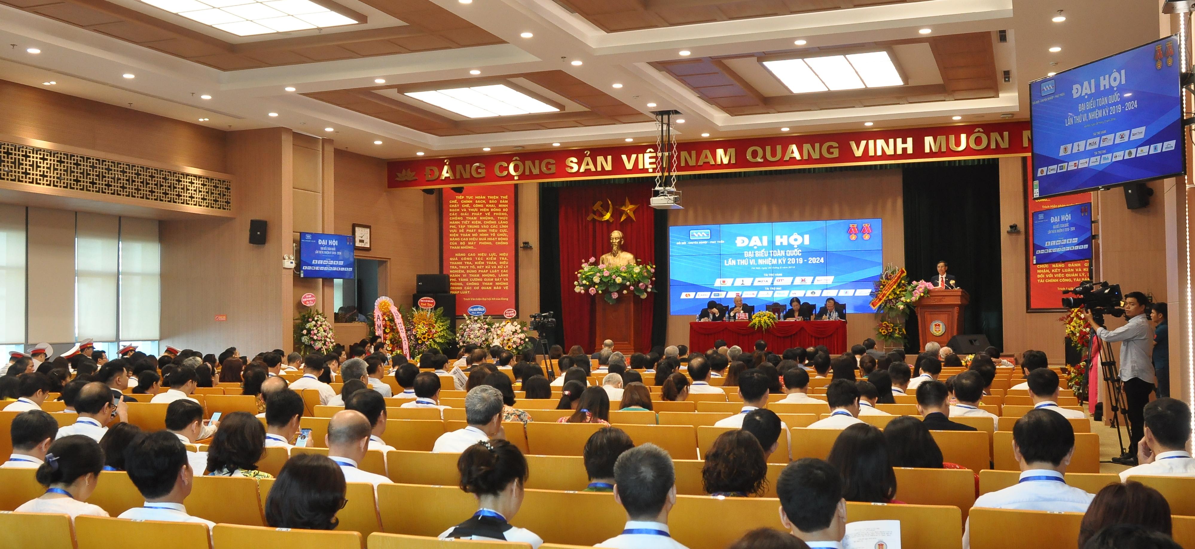 Hội Kế toán và Kiểm toán Việt Nam tổ chức Đại hội đại biểu toàn quốc lần thứ VI, nhiệm kỳ 2019 - 2024