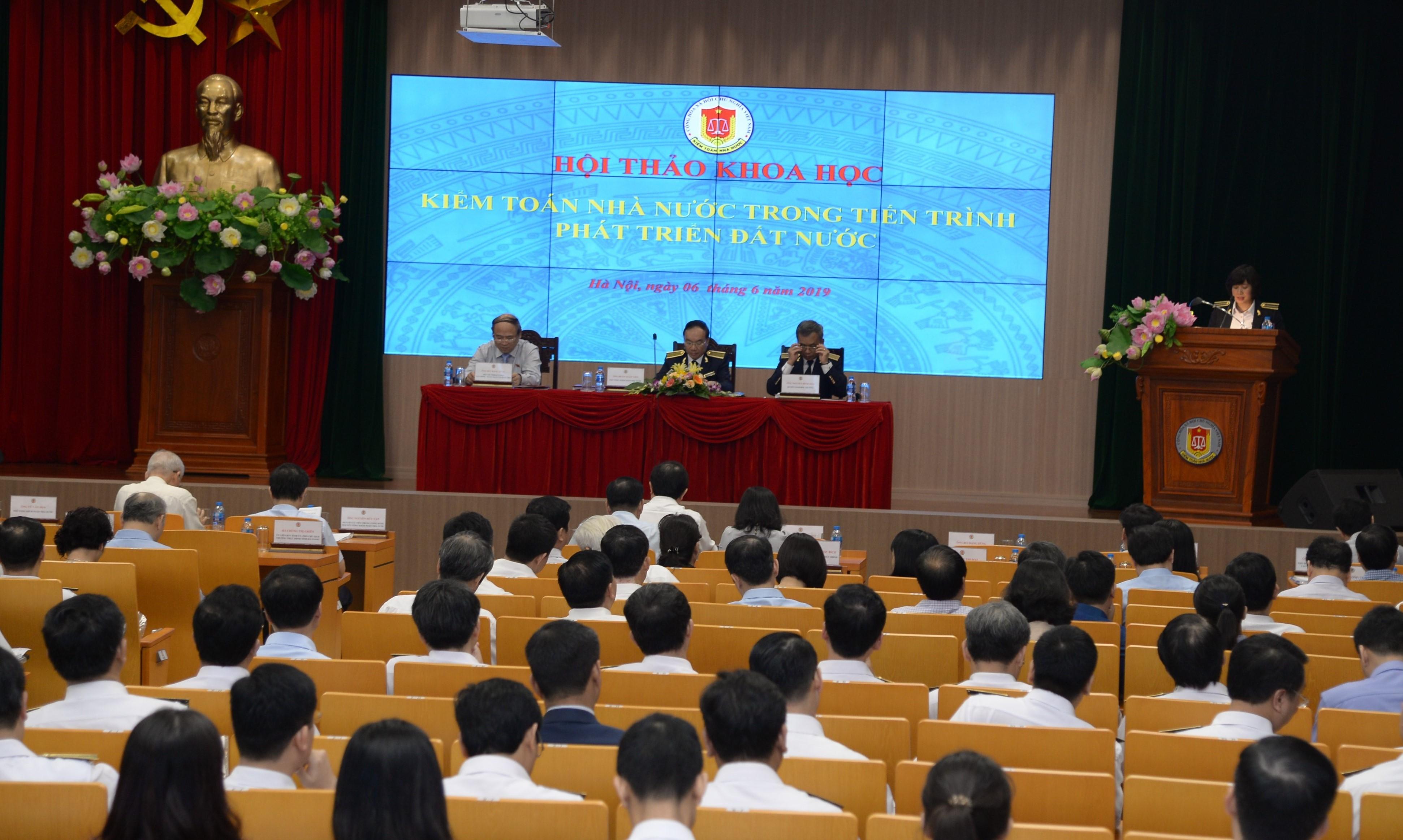 Khẳng định vai trò của Kiểm toán Nhà nước trong tiến trình phát triển đất nước
