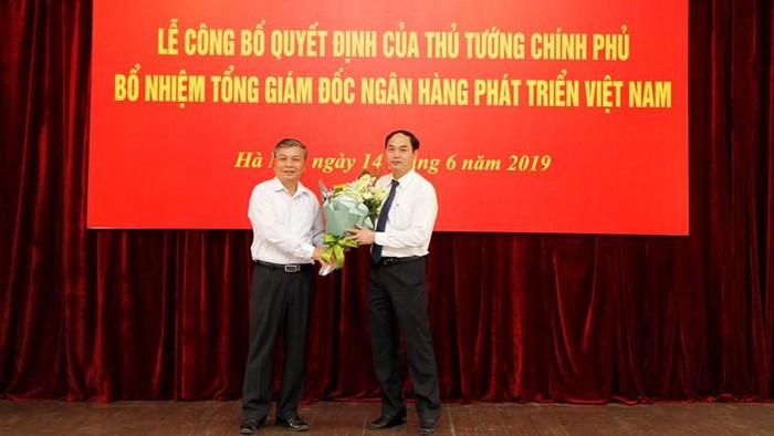 Thủ tướng Chính phủ bổ nhiệm Tổng Giám đốc Ngân hàng Phát triển Việt Nam