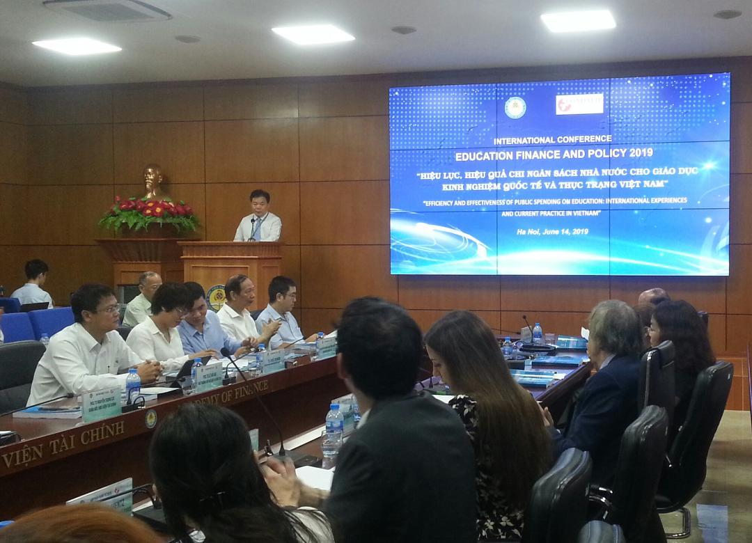 Nghiên cứu các giải pháp nâng cao hiệu lực chi ngân sách cho giáo dục ở Việt Nam
