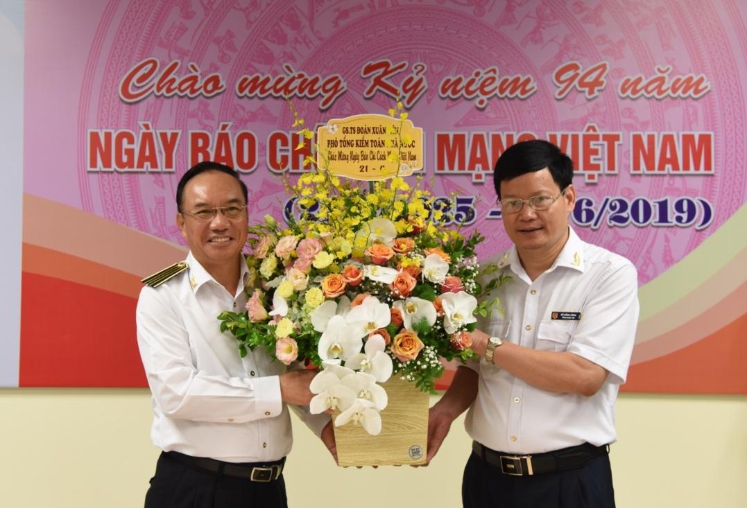 Báo Kiểm toán kỷ niệm 94 năm Ngày Báo chí cách mạng Việt Nam