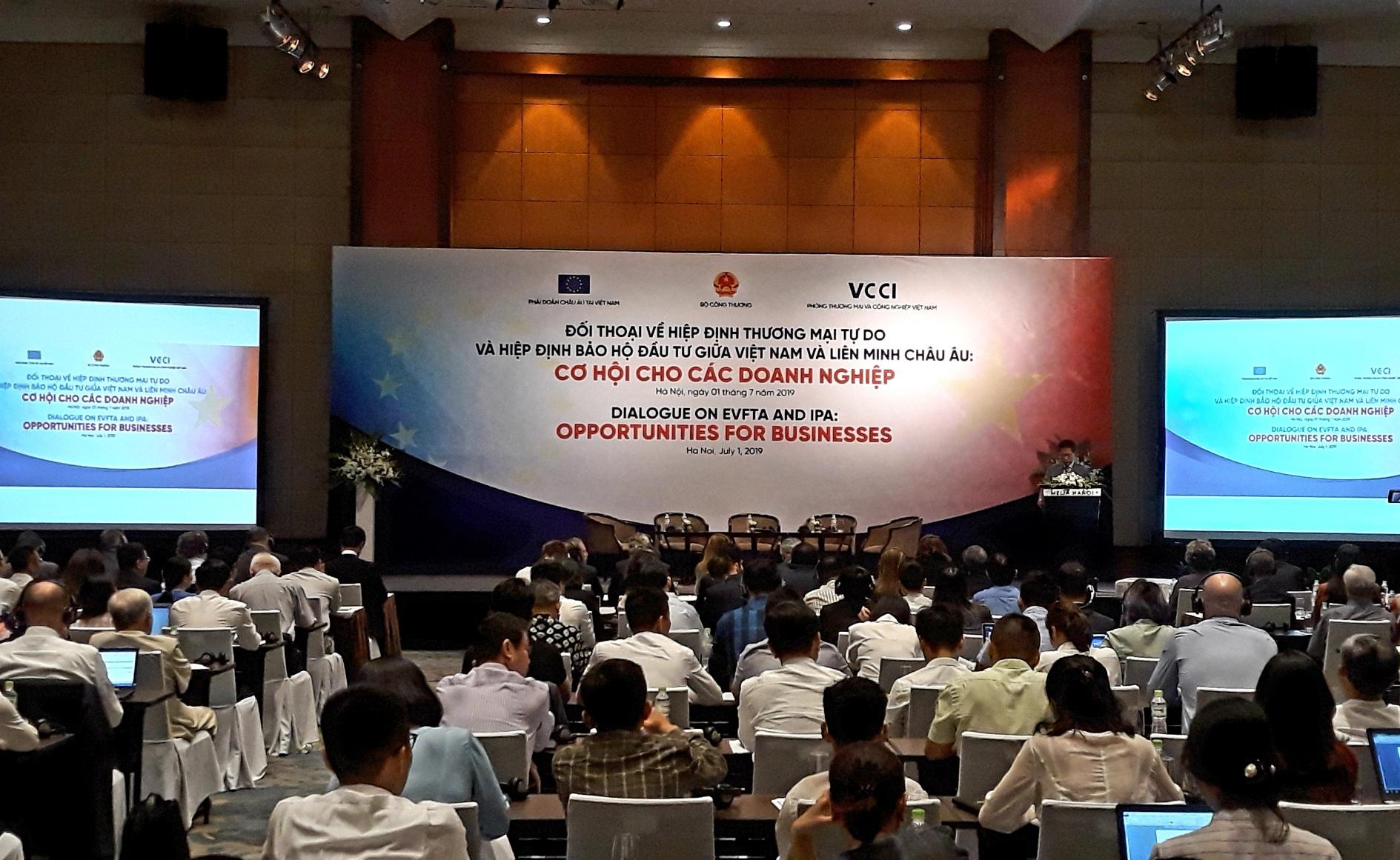 Cơ hội lớn cho cộng đồng doanh nghiệp Việt Nam, EU từ EVFTA và EVIPA