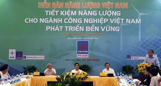 Bàn giải pháp thực hiện tiết kiệm năng lượng cho ngành công nghiệp Việt Nam