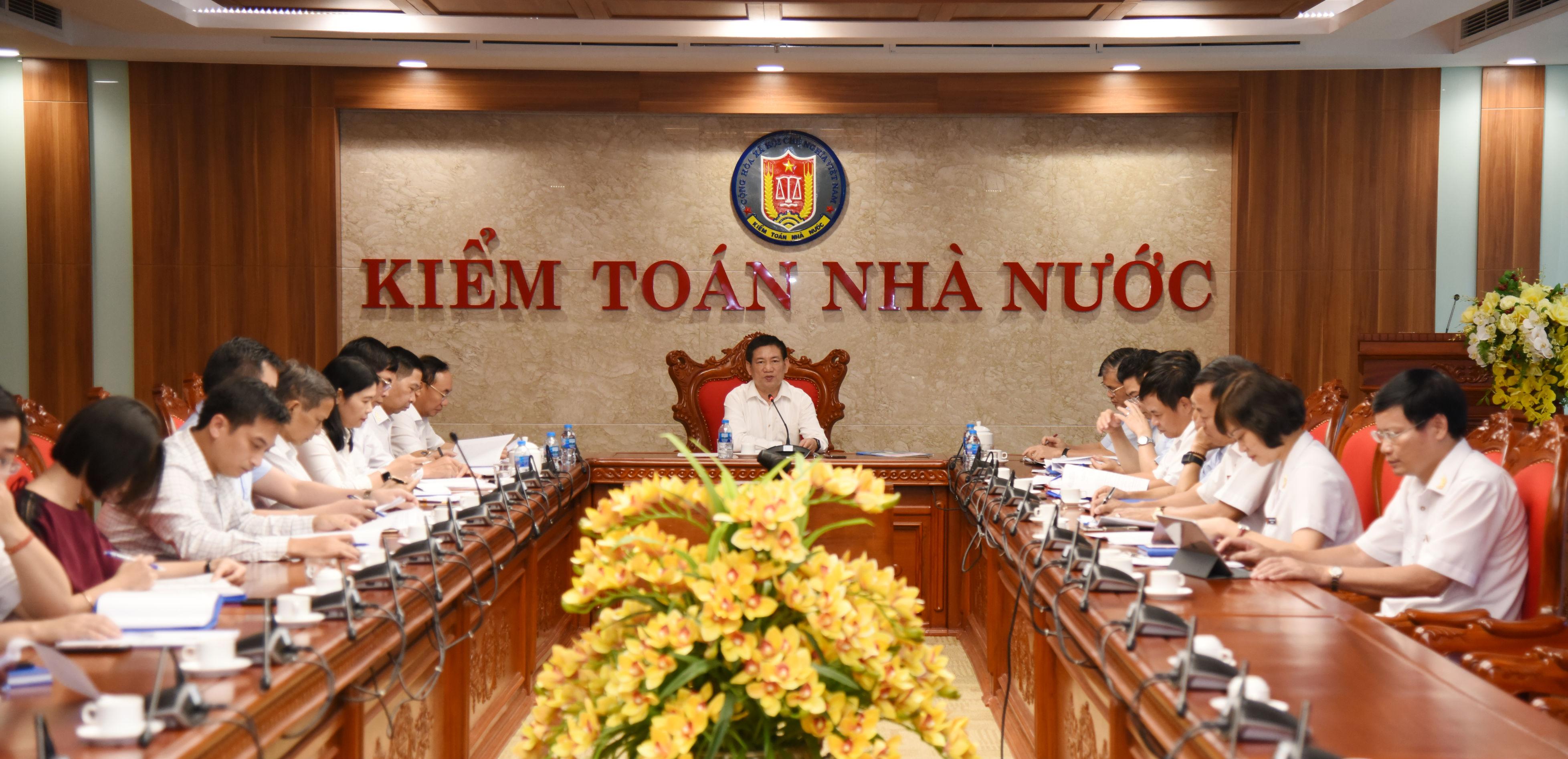 Hoàn thiện Dự thảo Chiến lược phát triển KTNN gửi các cơ quan liên quan thẩm định, cho ý kiến
