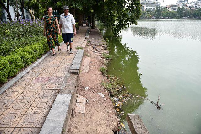 Hà Nội tiếp tục cải tạo, chỉnh trang khu vực xung quanh hồ Hoàn Kiếm