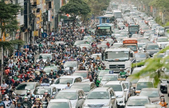 Ngành giao thông vận tải đóng góp 10,8% tổng lượng phát thải CO2