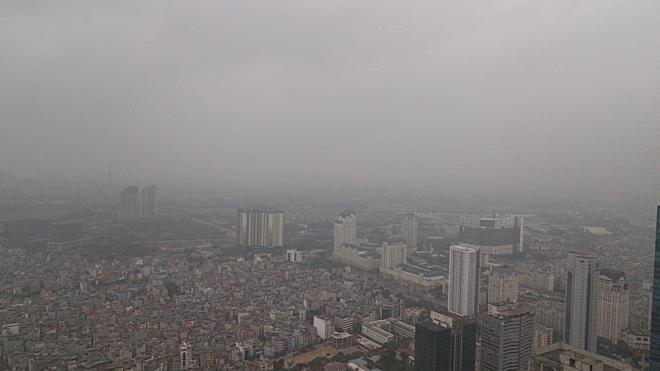 Hà Nội: ô nhiễm không khí ở mức báo động