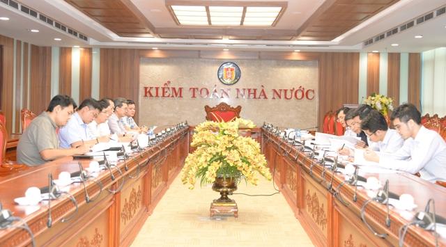 KTNN làm việc với Thanh tra Chính phủ về Kế hoạch kiểm toán năm 2020