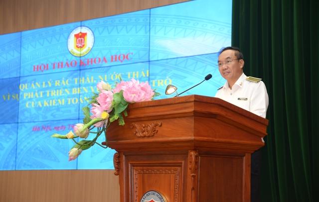Hội thảo về quản lý rác thải, nước thải vì sự phát triển bền vững và vai trò của KTNN