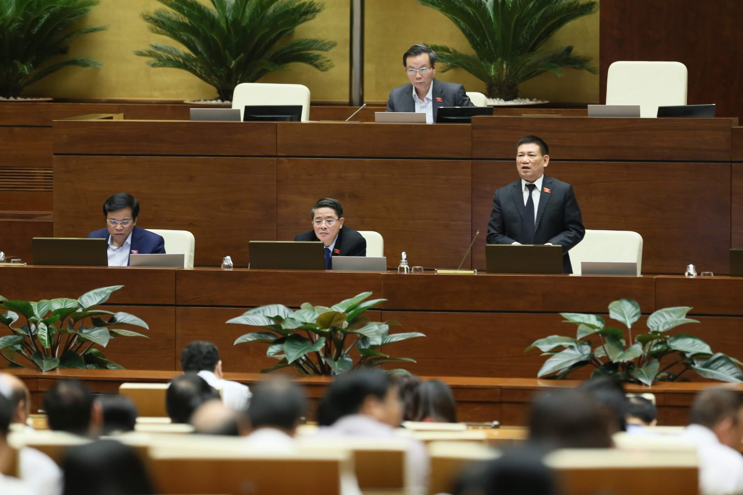 Tổng Kiểm toán Nhà nước Hồ Đức Phớc: Tiếp thu tối đa các ý kiến đóng góp của đại biểu Quốc hội