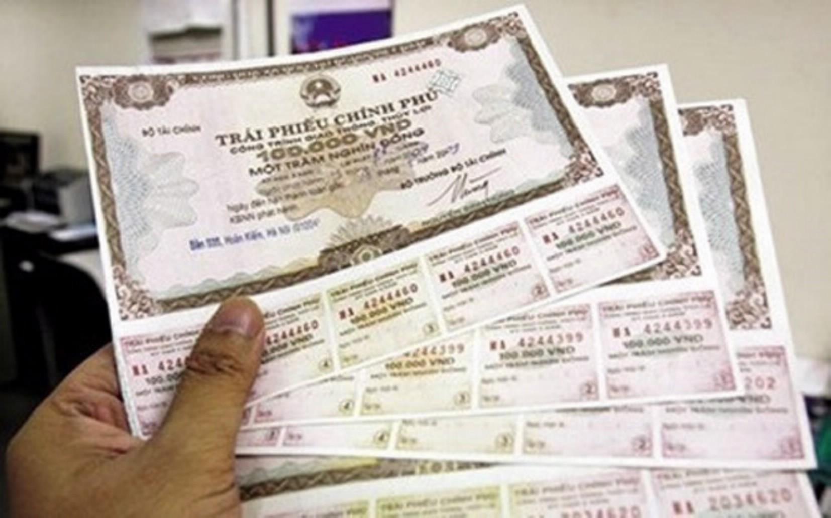 Huy động hơn 3.300 tỷ đồng qua đấu thầu trái phiếu Chính phủ