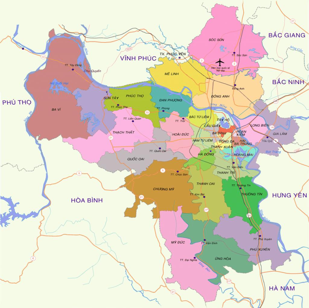 Hà Nội phát triển 3 khu đô thị sinh thái vào năm 2030