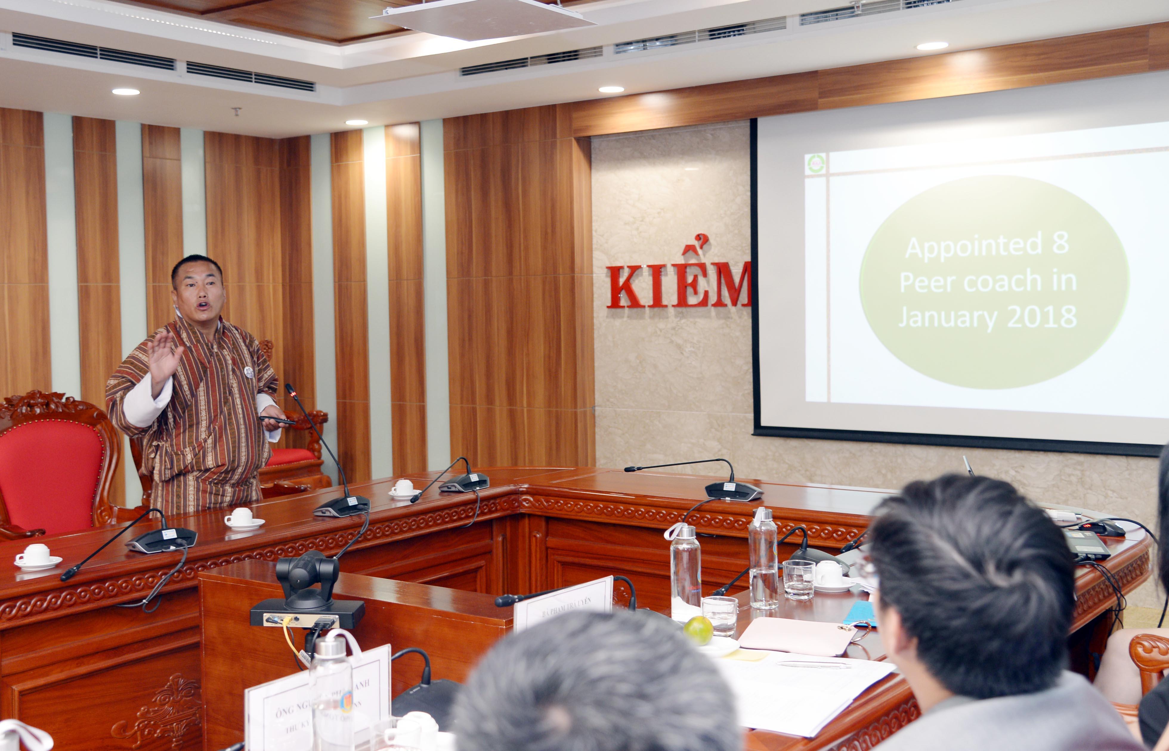 KTNN Việt Nam và KTNN Bu-tan chia sẻ nhiều kinh nghiệm kiểm toán quan trọng