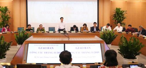 Hà Nội tập trung thực hiện các nhiệm vụ trọng tâm tháng 12/2019