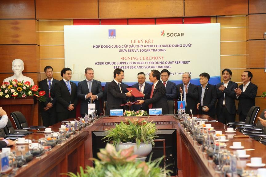Tăng nhập khẩu dầu thô Azeri cho NMLD Dung Quất