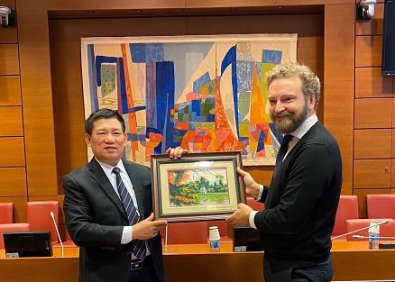 Đoàn đại biểu cấp cao của KTNN Việt Nam kết thúc tốt đẹp chuyến thăm và làm việc tại Cộng Hòa Pháp
