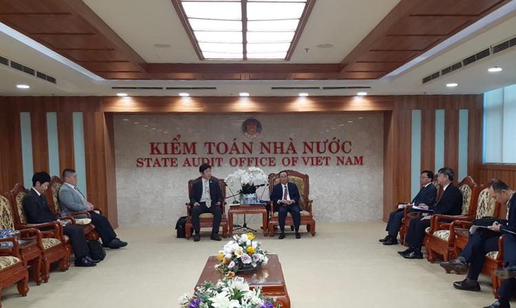 Ủy ban Kiểm toán Nhật Bản tăng cường hợp tác, hỗ trợ KTNN Việt Nam