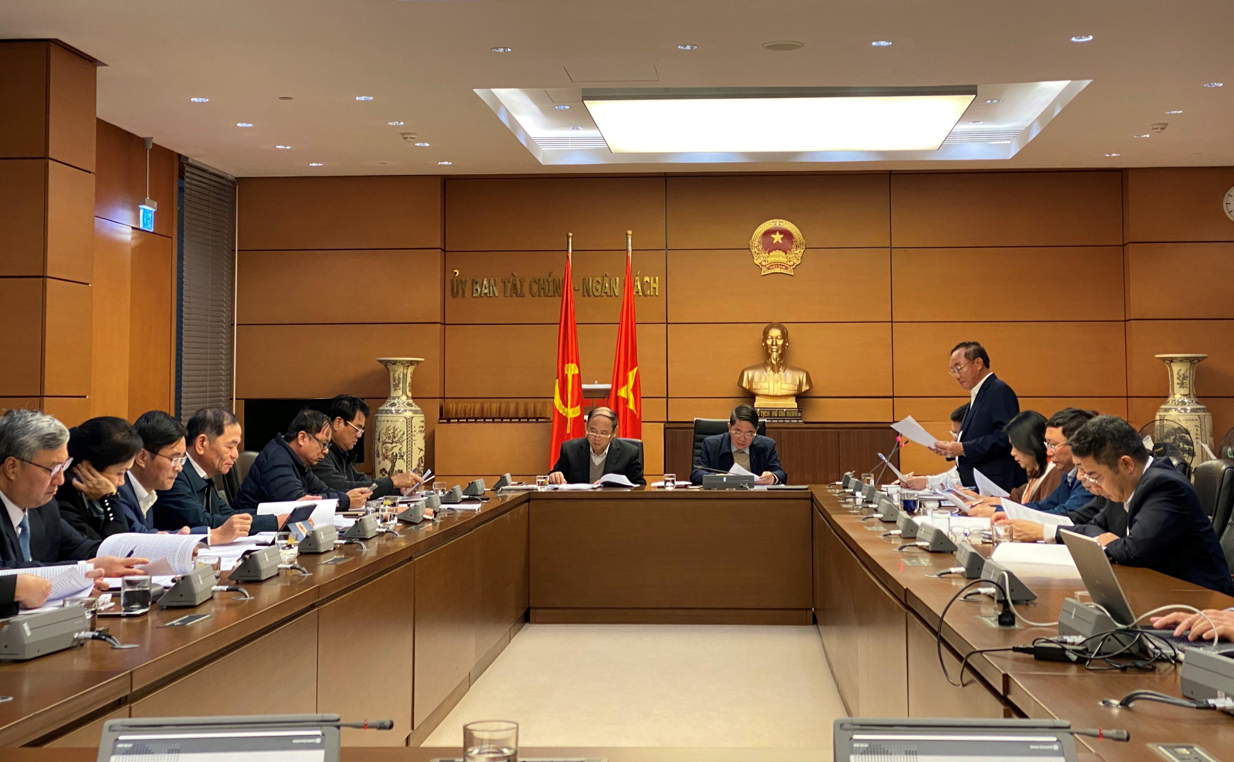 Ủy ban Tài chính – Ngân sách thẩm tra Chiến lược phát triển Kiểm toán Nhà nước đến năm 2030 và tầm nhìn đến năm 2035
