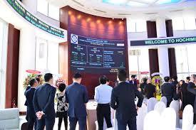 Giá trị vốn hóa niêm yết tại TP Hồ Chí Minh đạt 3,28 triệu tỷ đồng
