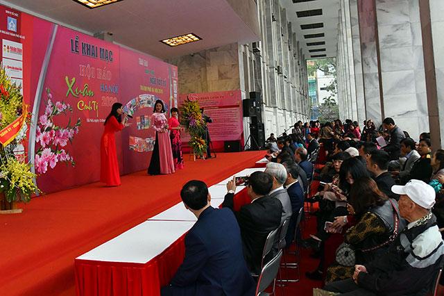 Tưng bừng khai mạc Hội Báo xuân Canh Tý – Hà Nội 2020