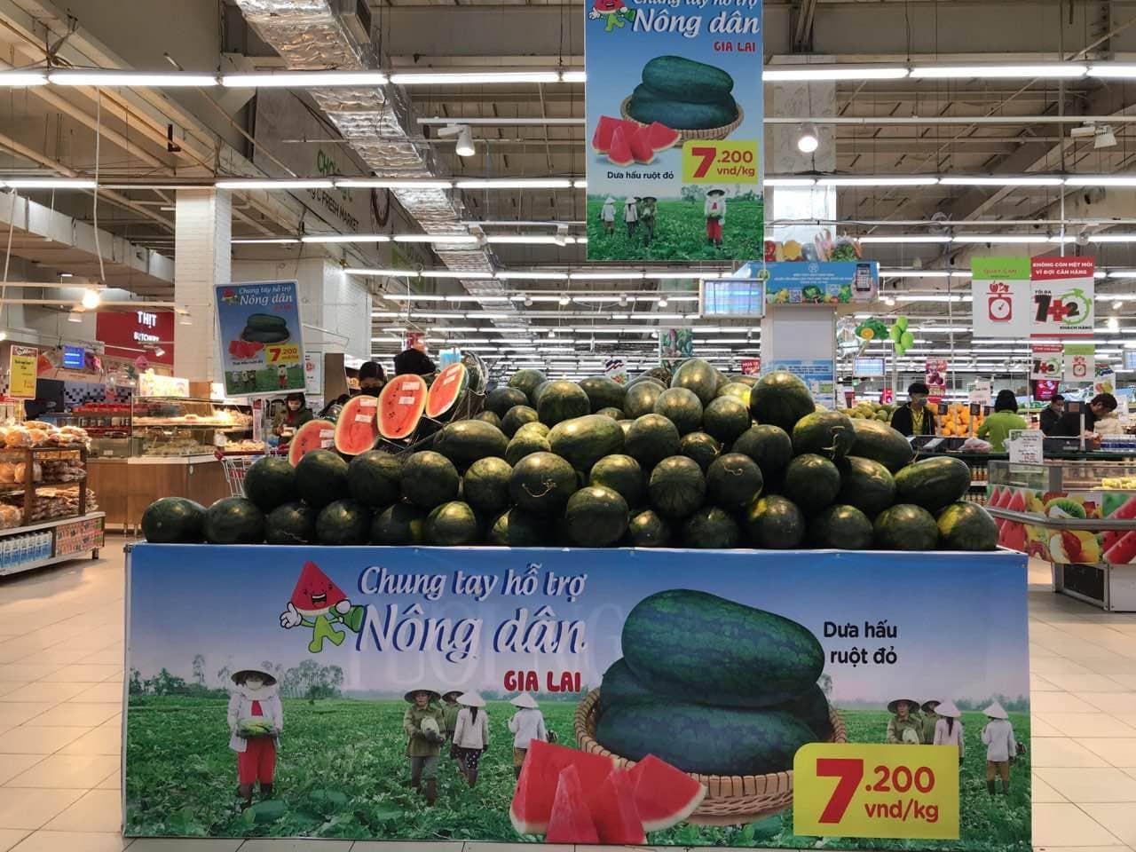 Các siêu thị đảm bảo cung ứng hàng hóa, giá cả ổn định