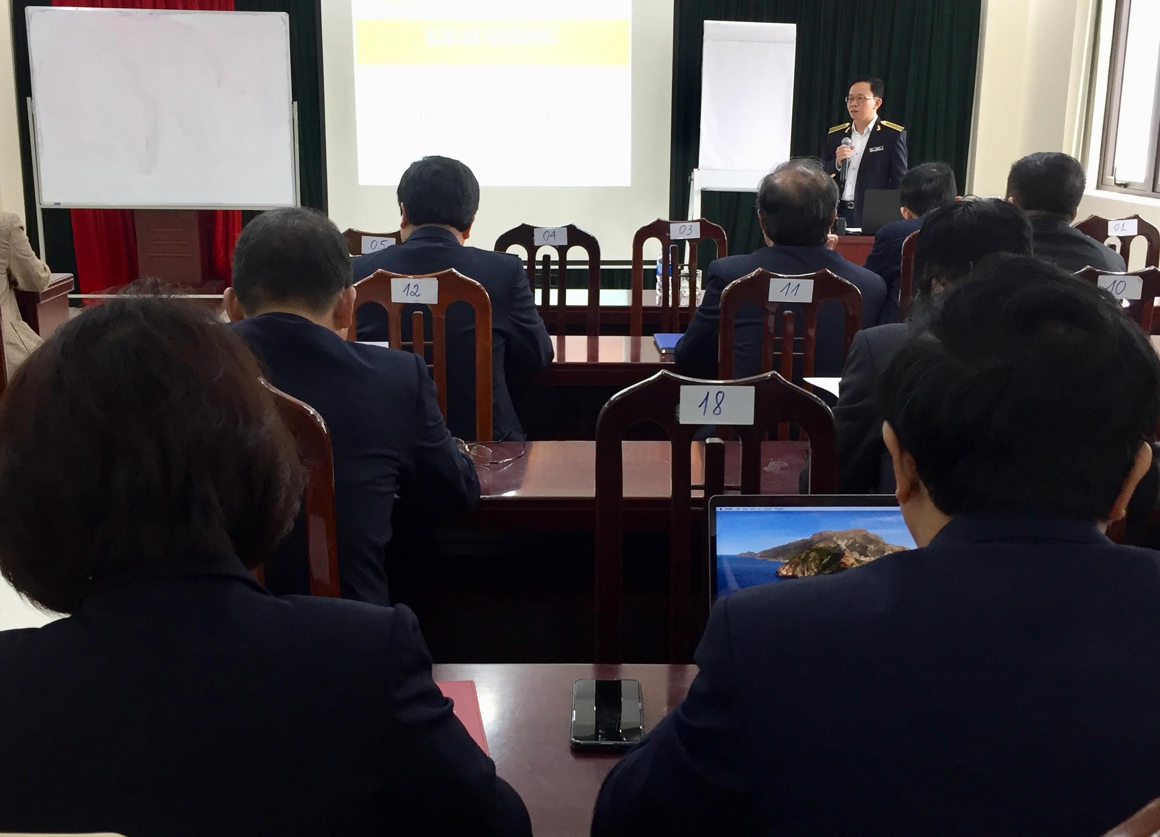 20 học viên tham gia Lớp Bồi dưỡng phương pháp sư phạm