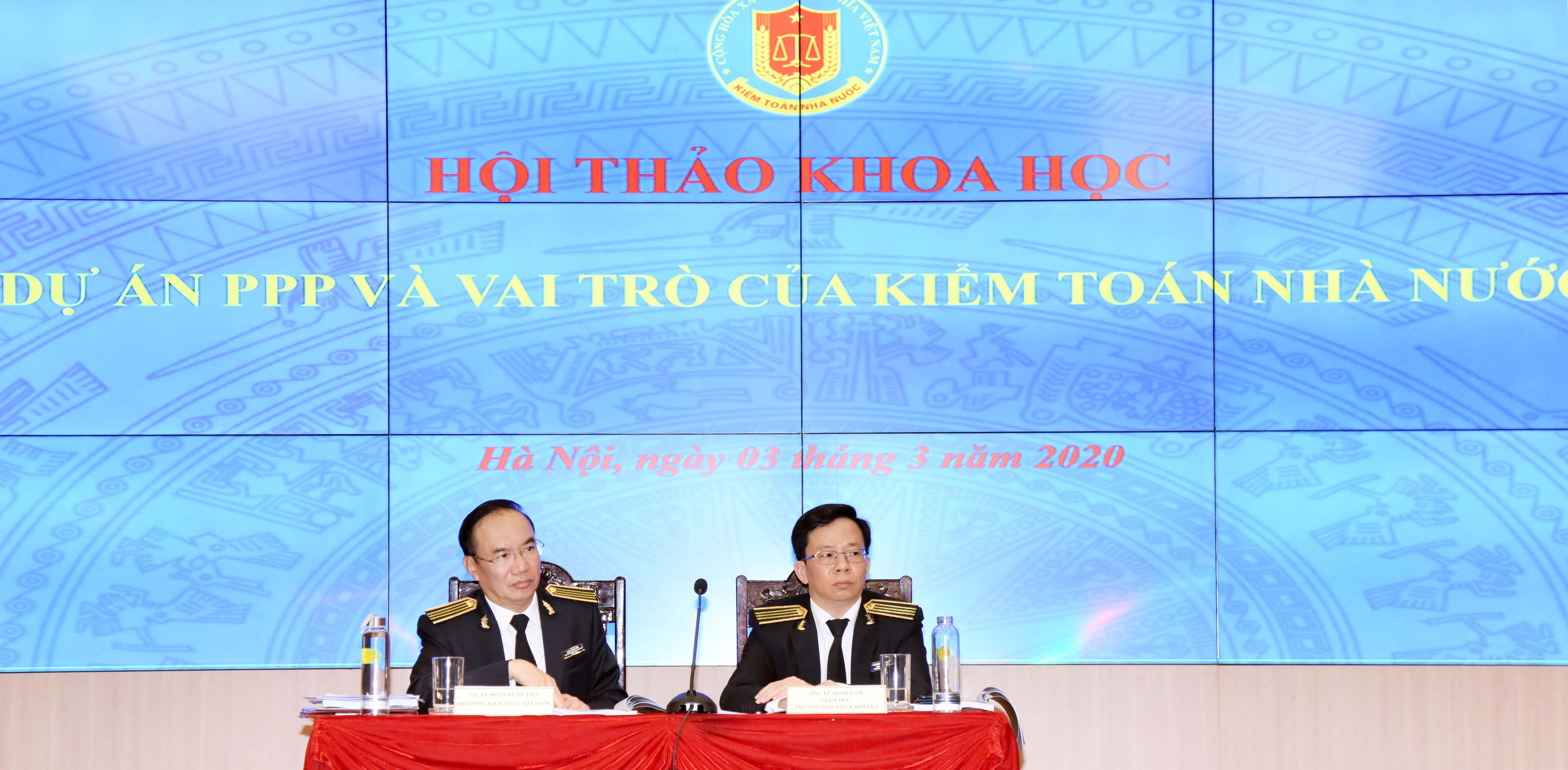 """KTNN tổ chức Hội thảo """"Dự án PPP và vai trò của KTNN"""""""