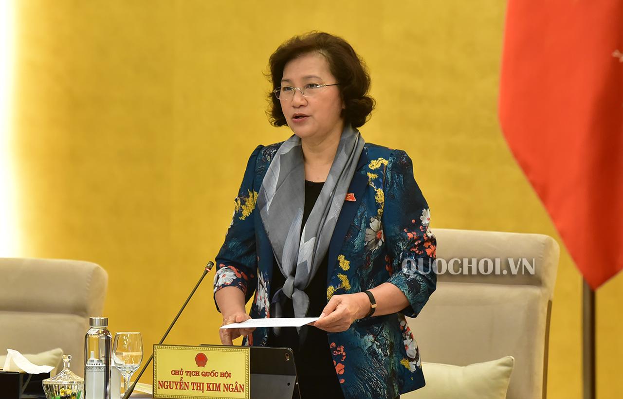 Ủy ban Thường vụ Quốc hội sẽ tổ chức Hội nghị đại biểu Quốc hội chuyên trách bằng hình thức trực tuyến
