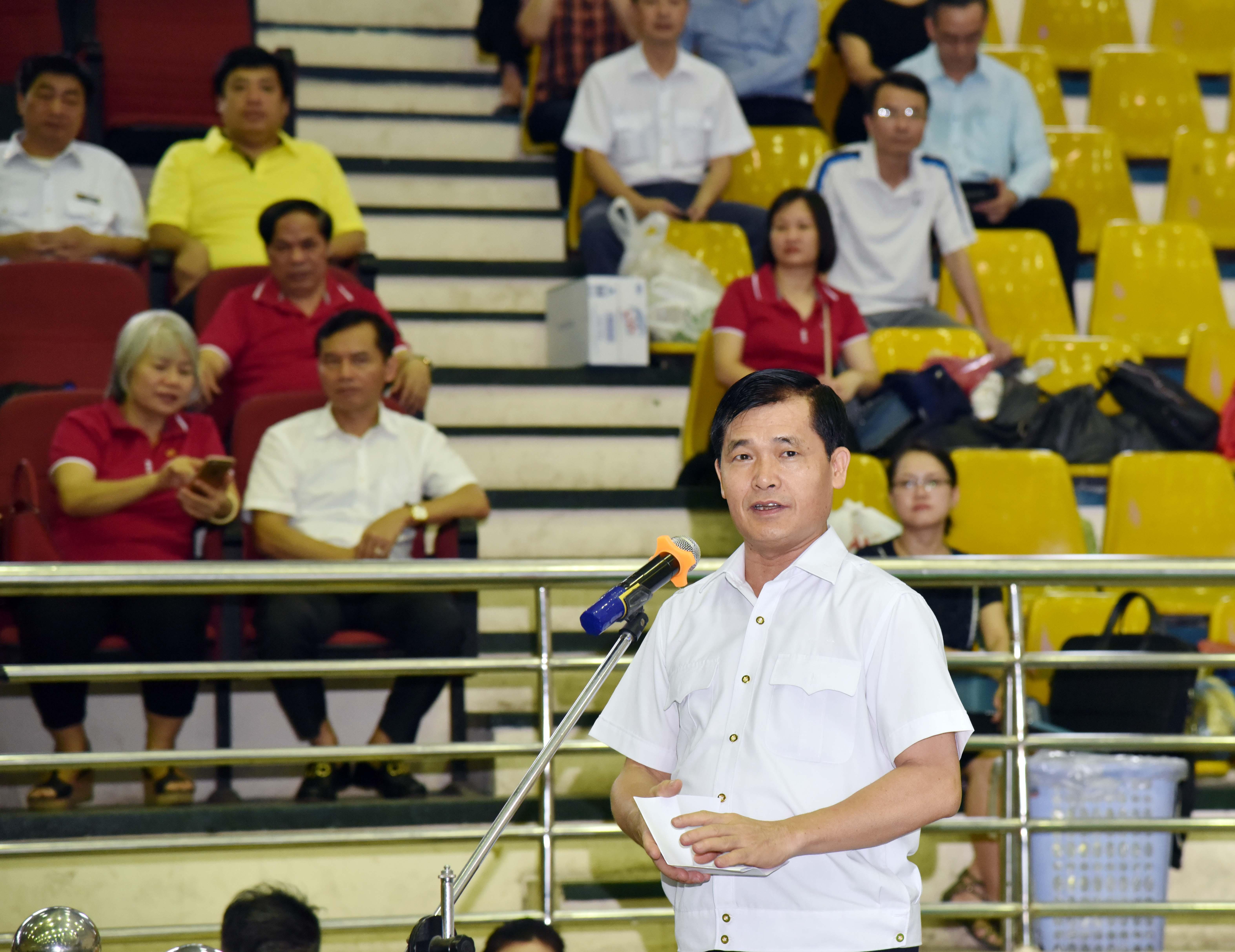 Khai mạc Giải thể thao chào mừng kỷ niệm 26 năm Ngày thành lập KTNN và Đại hội Đảng bộ KTNN lần thứ VII