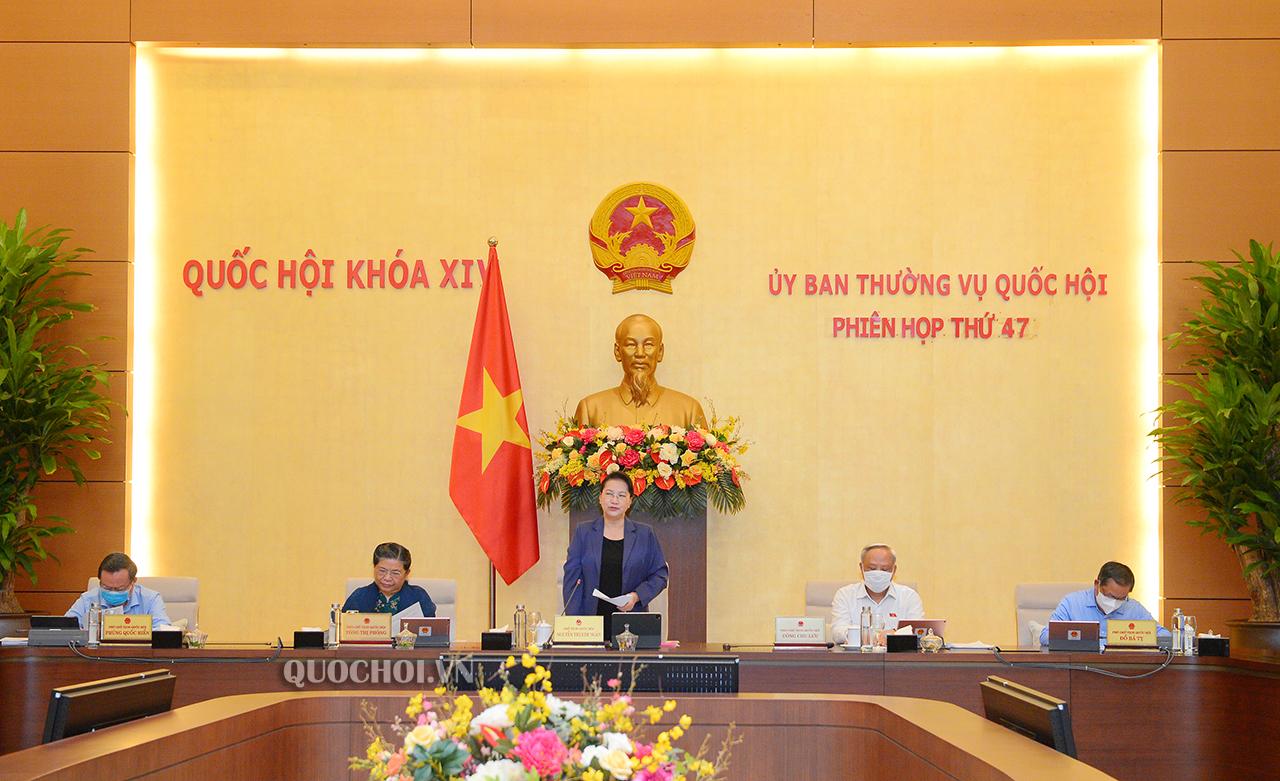 Khai mạc Phiên họp thứ 47: Ủy ban Thường vụ Quốc hội sẽ cho ý kiến về Chiến lược phát triển Kiểm toán Nhà nước đến năm 2030