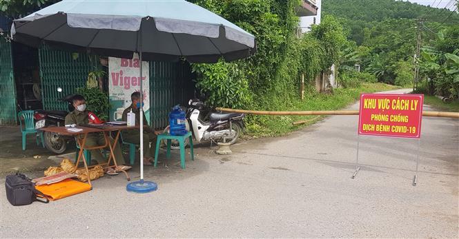Dịch COVID-19: Giãn cách xã hội hai xã Khải Xuân và Võ Lao của huyện Thanh Ba, tỉnh Phú Thọ