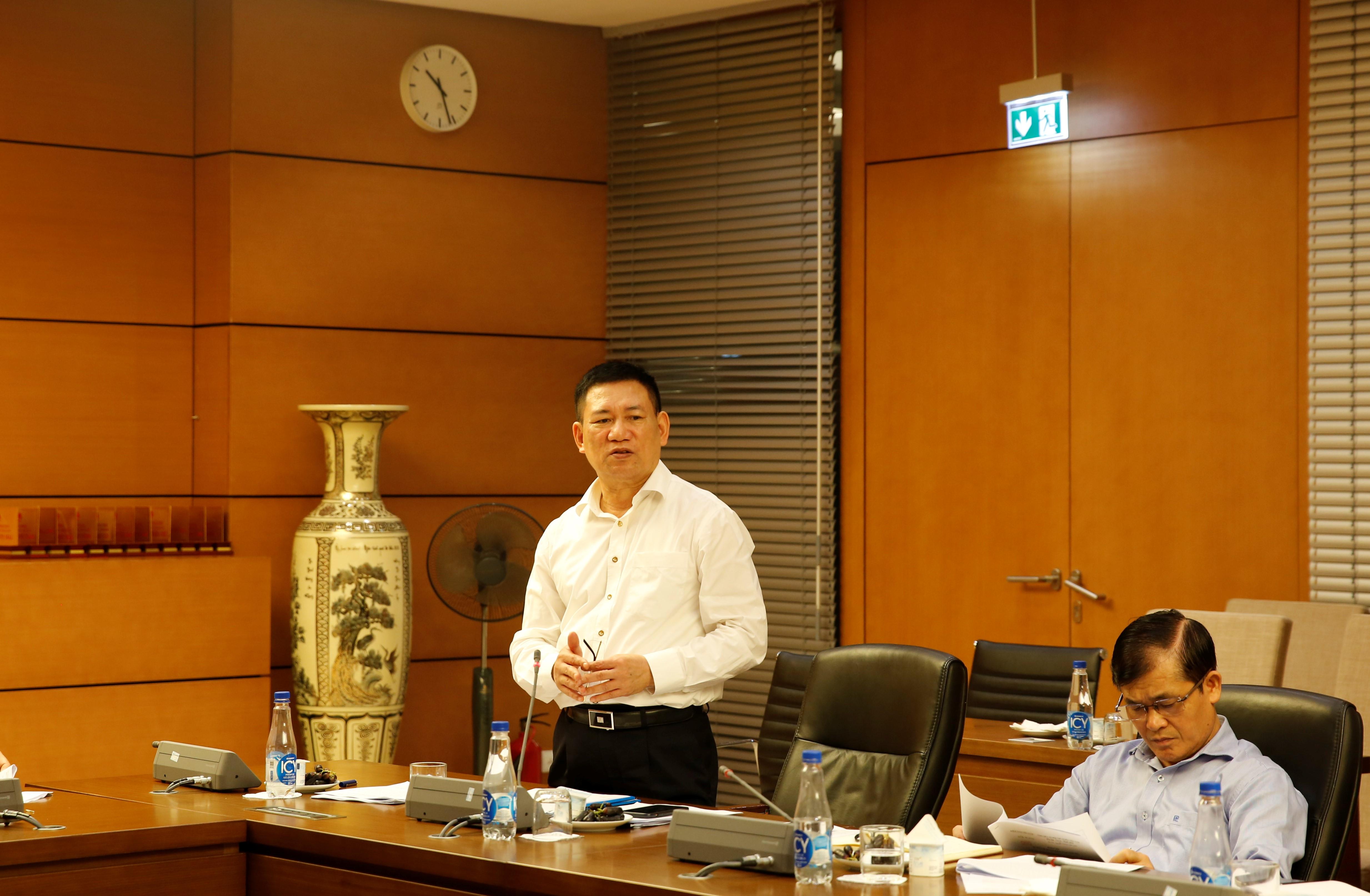 Ủy ban Tài chính - Ngân sách thẩm tra báo cáo công tác và dự kiến kế hoạch kiểm toán năm 2021 của Kiểm toán Nhà nước