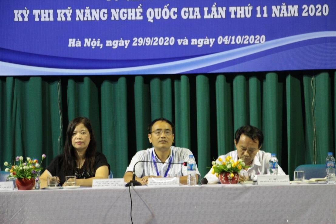 Hội nghị tổ chức lần 2 kỳ thi Kỹ năng nghề quốc gia năm 2020
