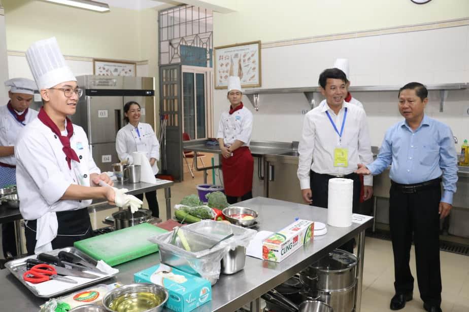Kỳ thi Kỹ năng nghề quốc gia đã tiệm cận với khu vực và thế giới